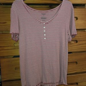 Two striped tees from jcpenny